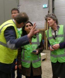 Dhr Steinkeller met Yasemin Çegerek en Cathy Sjerps